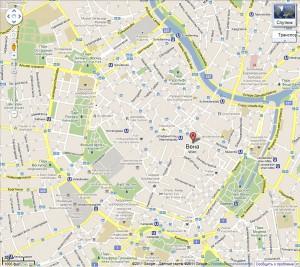 Австрия экскурсии. Карта. Ринг.