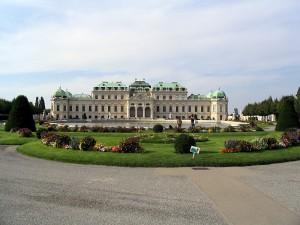 Вена Австрия фото. Бельведер.