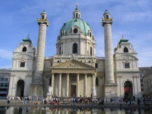 Вена. Церковь Св. Карла.