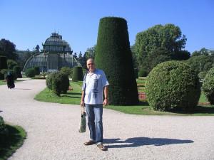 Парки Вены. Пальмовый павильон Palmenhaus.