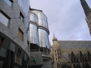 Вена столица Австрии. Stephansplatz