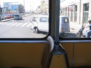 Транспорт Австрии. Трамваи.