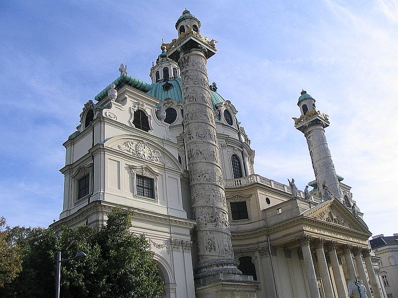 Церковь святого Карла. Вена Австрия достопримечательности.