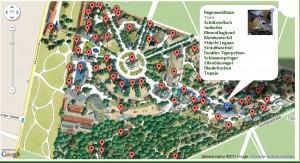 Венский зоопарк. Карта.