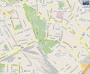 Карта Вены. Арсенал.