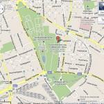 Карта. Вена. Ботанический сад.
