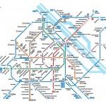 Карта. Метро Вены.